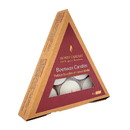 Honey Candles 235744 Tea Lights Triangle Pearl Pack 6 count