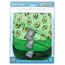 Chicobag 235763 Reusable Avocado Snack Time Bags 3 count