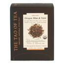 The Tao of Tea 235804 Oregon Mint Tulsi Pyramid Sachets 15 count