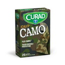 Curad Green Camouflage Fabric Bandages 3/4 in. x 3 in. 25/Ct