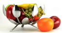 Forked Up Art P14 Fruit Bowl - Round