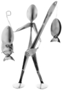 Forked Up Art S13 Fisherman - Spoon