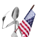 Forked Up Art S24 Patriot - Spoon