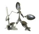 Forked Up Art S63 Hockey Goalie - Spoon- Retail