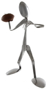 Forked Up Art S67 Football Player - Spoon- Retail