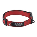 GOGO Pet Soft & Comfy 3M Reflective Pastel Color Padded Dog Collar, Matching Leash & Harness Available Separately, No-Pull Painless Head Lead Collar for Dogs