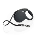Flexi Classic Retractable Dog Leash in Black, Medium-16