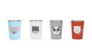 RedRover 20008 Kids SS Animal Cup S/4 10oz