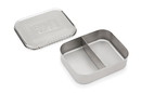 Bits Kits 20801 SS Snack Container 2 sections