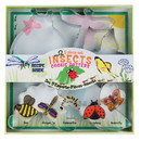 Fox Run 36009 Insect Cookie Cutter Set, Tin-Plated Steel, 5-Piece