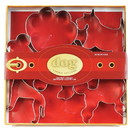 Fox Run 36011 Dog Cookie Cutter Set, Tin-Plated Steel, 6-Piece