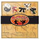 Fox Run 36034 Karate Cookie Cutter Set, Stainless Steel, 5-Piece