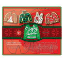 Fox Run 36039 Ugly Christmas Sweater Cookie Cutter Set, Stainless Steel, 4-Piece