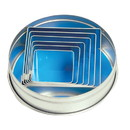 Fox Run 3609 Square Cookie Cutter Set, Stainless Steel, 6-Piece