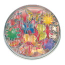 Fox Run 3614 Mini Flower and Butterfly Cookie Cutter Set, Stainless Steel, 11-Piece