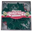 Fox Run 3648 Christmas Cookie Cutter Set, Stainless Steel, 7-Piece