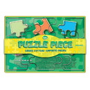 Fox Run 36540 Puzzle Pieces Cookie Cutter Set, Stainless Steel, 6-Piece