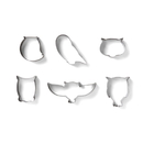 Fox Run 3673 S/6 Owl Cookie Cutters