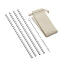 Outset 76625 Long Straw Stainless Steel Natural Bag