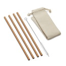 Outset 76627 Copper Straw with Natural Bag