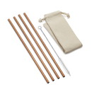 Outset 76629 Copper Straw Long Straight w/Bag