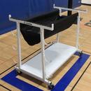 GARED 6295 Volleyball Equipment Storage Cart