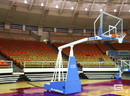 GARED 9408 Hoopmaster Collegiate Portable Basketball Backstop, 8' Boom, 42