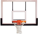 GARED BB60G38 Outdoor Recreational Glass Basketball Backboard, Outdoor Glass Backboard, 42