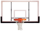 GARED BB72P50 Unbreakable Polycarbonate Basketball Backboard, Polycarbonate Backboard, 42