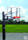 GARED GP104A60 Endurance Acrylic Playground Basketball System, 4', 42