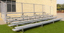 GARED GSNB0515 5 Row Fixed Spectator Bleacher without Aisle, 10