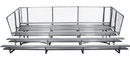 GARED GSNB0527DF 5-Row Fixed Spectator Bleacher without Aisle, 10