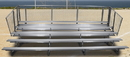 GARED GSNB0527 5-Row Fixed Spectator Bleacher without Aisle, 10
