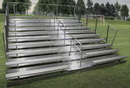 GARED GSNB1021WA 10-Row Fixed Spectator Bleacher with Aisle, 10