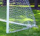 GARED SN49-3W 4-1/2' X 9' Touchline Soccer Net, 3 MM, White