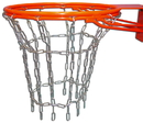 GARED WCN Welded Steel Chain Basketball Net, Welded, Double Bumped Ring Goal