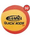 Gamma Quick Kids 36 Foam Balls (36' Court), CGQ16