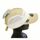 Blubandoo Incorporated BBDKHAWHTCAP1 Khaki/White Sport Capbandoo