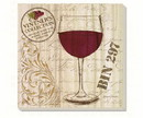 Counter Art CART87863 Love Wine Glass Coasters Set of 4