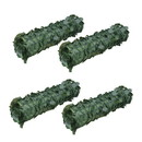 ALEKO 4SCRN94X39INDG-AP Artificial Ivy Leaf Privacy Screen Fence - 94x39 inches - Pack of 4