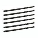 ALEKO 6NGRACK33-AP Fiberglass Reinforced Nylon Gear Rack with Metal Insert - 3.3 Feet - Set of 6