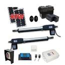 ALEKO AS1200FULL-AP Dual Swing Gate Operator - AS1200 AC/DC - Solar Kit 30W