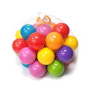 ALEKO BHBALLS Set Of 30 Plastic Balls For Bouncy House Pitt Crush Proof Non Toxic Toy Balls Various Vibrant Colors