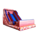 ALEKO BHC010-AP Commercial Grade Inflatable Bounce House Water Slide with Pool and Blower - Pink and Multi-Color Decals