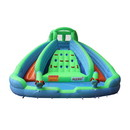 ALEKO BHMRIVER-AP Commercial Grade Inflatable Dual Water Slide Bounce House with Splash Pool and Blower