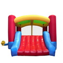 ALEKO BHOUSE-AP Commercial Grade Inflatable Kid's Zone Bounce House with Slide and Blower