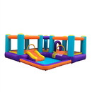 ALEKO BHPLAY-AP Extra Large Inflatable Playtime Bounce House with Splash Pool and Slide