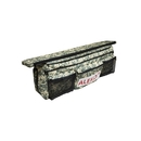 ALEKO BSB320DV2-AP Waterproof Inflatable Boat Seat Cushion with Under Seat Bag and Pockets - 34x9 inches - Digital Camouflage