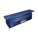 ALEKO BSB380BV2-AP Waterproof Inflatable Boat Seat Cushion with Under Seat Bag and Pockets - 38 x 9 inches - Blue