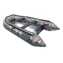 ALEKO BT420CM-AP Inflatable Boat with Aluminum Floor - BT420 - 13.8 ft - Camouflage Style